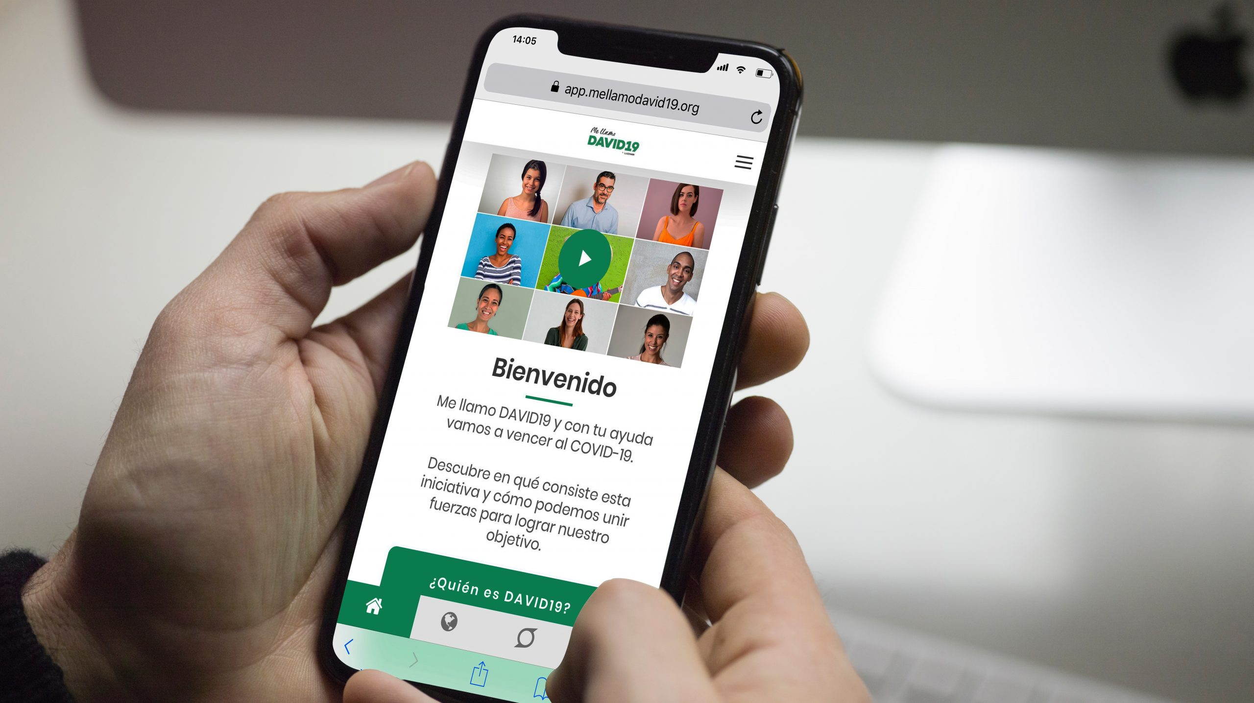 IMAGEN RADIO | David 19, la aplicación para combatir el coronavirus en América Latina